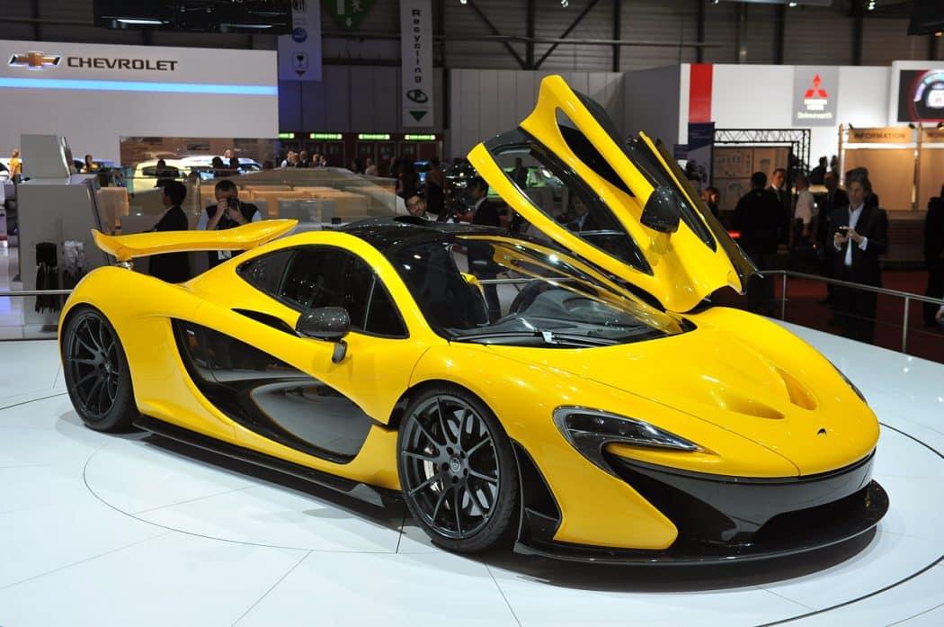 McLaren P1 Unleashed At Geneva Motor Show